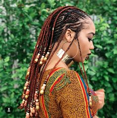 #BraidedUpforTheSummer 18 Magnificent Braided Styles To Rock This Summer - Lisa a la mode
