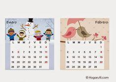 Imprimolandia: Calendarios 2015 para imprimir