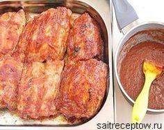 вкусные свиные рёбра в духовке