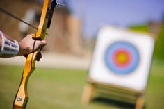 Learn the basics of archery, including information on choosing a bow and arrow, how to aim and games to play. Originally titled