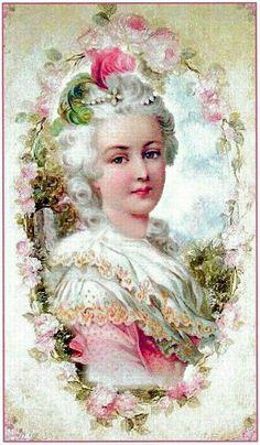 Marie Antoinette flip