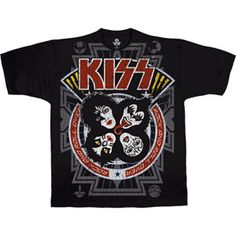 KISS Rock and Roll All Over Shirt