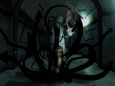Me and my boyfriend as Medusa Gorgon and Franken Stein from Soul Eater!