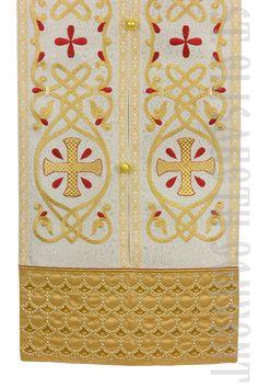 Orthodox Bishop Vestments Order here: https://catalog.obitel-minsk.com/index.php/bishop-vestment-sh-28-32.html #CatalogOfGoodDeeds #OrthodoxVestments #bishop #orthodox #OrthodoxClergy