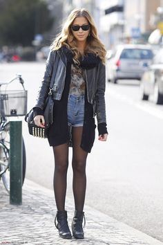 Kenza Zouiten is my biggest fashion inspiration. Such gorgeous style.