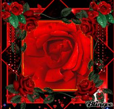 Red Roses blingee
