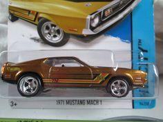 Mustang Mach 1 - 1971 Hot Wheels, Mustang Mach 1, Car, Automobile, Autos, Cars