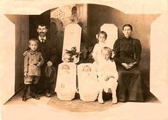 Sometimes, (imagine it) a post-mortem photograph was the only image a mother or a father had of a lost dearly loved child