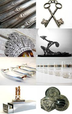 All That Glitters is Not Gold - Try Some Silver! --Pinned by xurple.etsy.com with TreasuryPin.com
