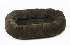 Bowsers Donut Dog Bed, Microvelvet Chocolate Bones, Large 42' >>> Check out this great product.