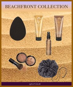 Beachfront collection from Younique. Younique products are hypo-allergenic, cruelty free and has no harmful chemicals https://www.youniqueproducts.com/Jillysb/products/view/US-42016-03