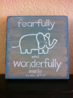 Bible Verse Art  Wall Art   Fearfully and by graceforgrace on Etsy, $22.00