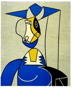 9734d1c86 Shop for Roy Lichtenstein Femme au Chapeau painting and frame at a discount  of off.