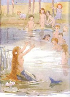 Margaret Tarrant-The Little Mermaid