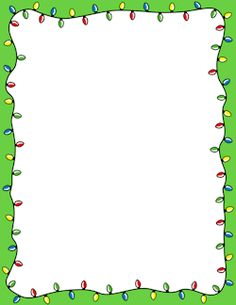 free christmas lights border templates including printable border paper and clip art versions file formats include gif jpg pdf and png