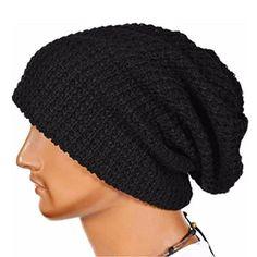 f490b5a49601 Amazon.com   Cap, BeautyVan Fashion Warm Winter Knit Ski Skull Slouchy Cap  (Beige)   Sports   Outdoors