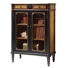 I pinned this Kensington Bookcase from the English Manor Home event at Joss and Main!