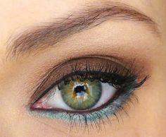 On My Eyes - Mocha & Blue...<3