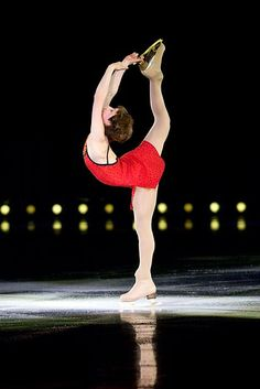 Irina Slutskaya, Russia- 2002 & 2005 World Champion & Olympic Bronze & Silver-she invented the double Biellman spin...One of my FAVORITE ice skaters of all time, if not favorite <3 <3