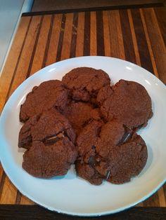 Mint nutella cookies
