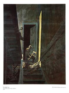 "Bernie Wrightson - ""The Black Cat"" Edgar Allan Poe Portfolio (Christopher Enterprises, 1976)"