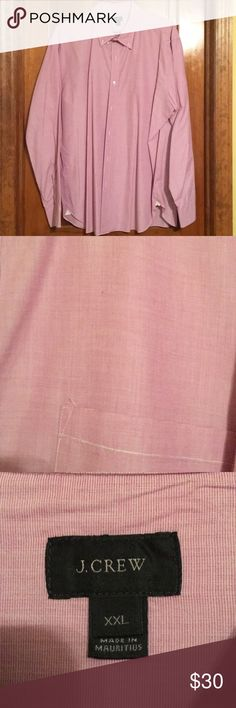 J Crew XXL pinkish/lavender shirt Like new J Crew XXL 100% cotton shirt.  Pinkish/lavender in color.  Prof cleaned. J. Crew Shirts Casual Button Down Shirts