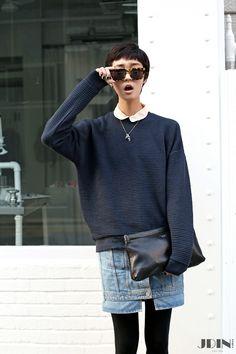 Street Fashion, Seoul(Korea) Kang So Young _[JDIN KOREA]