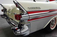 Bonneville! Love the Chrome and fins.