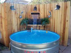 DIY Pacific Patio Pool