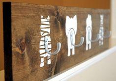 Déco Maison DIY, des patère animales pour chambre d'enfant