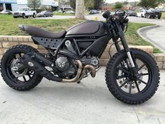 This Ducati Scrambler Is Looking Right