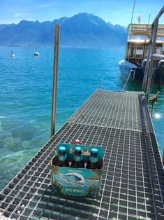 A snap from our in and the from Perfect as a refreshment for a day by the lake. Kona Brewing, Brewing Co, Cn Tower, Stand Up, Craft Beer, Switzerland, Chill, Hawaii, Island