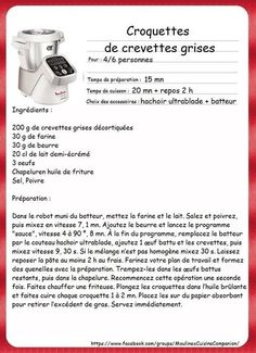 LES ENTRÉES | recette companion 02100 | Page 2 Prep & Cook, No Cook Meals, Thermomix Ou Companion, Cooking Classes Nyc, Cooking Green Beans, Cooking Chef, Coding, Desserts, Pastries