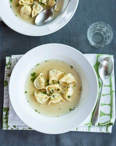 Recipe: Three-Cheese Tortellini in Parmesan Broth