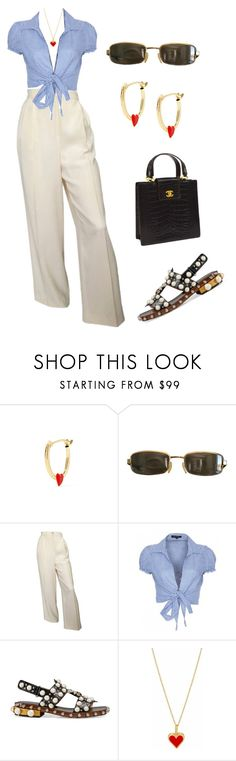 """Untitled #1939"" by lucyshenton ❤ liked on Polyvore featuring Alison Lou, Tom Ford, QED London, Gucci and Chanel"