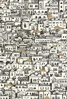 Google Maps Fornasetti's Style