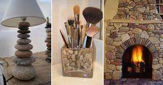 Výběr 26 inspirativních nápadů na rustikální dekorace z kamenů