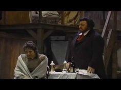 """▶ La Boheme - Pavarotti- """"Che gelida manina"""" Fiamma Izzo d' Amico """"Si, mi chiamano Mimi"""" - YouTube"""