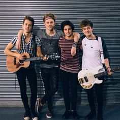 The beautiful band The Vamps. From their band twitter account @Matty Chuah Vamps Band