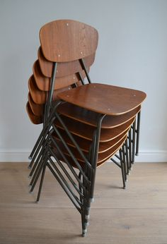 11 best teak chairs stacking images on pinterest stacking chairs