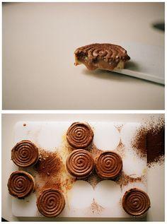 salted caramel milk chocolate mousse tarts