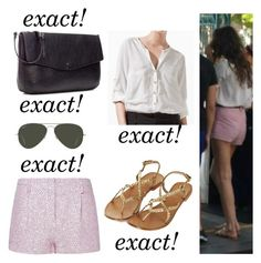 """""""Eleanor w/ Louis at disney"""" by eleanor-calder-closet ❤ liked on Polyvore featuring Ray-Ban, Topshop, Zara and MANGO"""