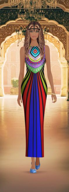 Pin de Yvette Stallworth em fashion doll | Vestidos, Modelos