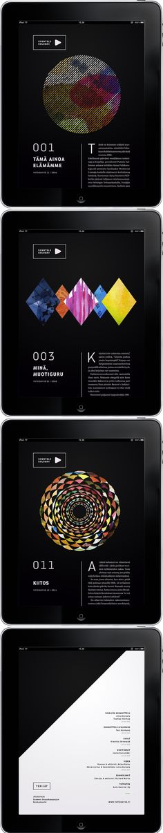 Kjell Westö iPad Publication. |  #appdesign #interface #design