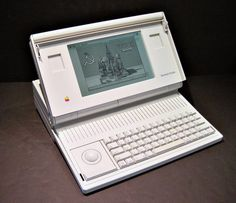 Apple Macintosh 5126 Portable Computer.