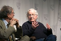 """Noam Chomsky on Wednesday joined Bruno della Chiesa, a visiting lecturer at the Harvard Graduate School of Education, in an Askwith Forum covering the legacy of the radical Brazilian educator Paulo Freire (1921-1997) and his 1968 book, """"Pedagogy of the Oppressed."""""""