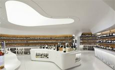 We Love wine at The Collector, and especially if we can get it at cool stores like this!