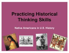 This is a great end of semester/year review activity to practice both content related to Native Americans in the United States and various historical thinking skills. It can also help students create a study guide for exams and help students develop writing skills.