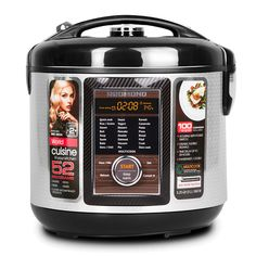 Starving for space in your kitchen? This multicooker has 52 programs, cook a roast, bake bread, make yogurt. Who needs a stove? Redmond Multicooker, Dessert Pasta, Cooking A Roast, Rice Cooker, Bread Baking, Tasty Dishes, Stove, Yogurt, Small Spaces