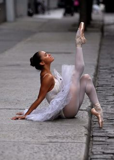 """""""Ballet...something pure in this crazy world"""" --Misty Copeland .......a visually appealing and inspiring collage of photos and quotes (and her comments on diet) from the only African American with the American Ballet Theater"""